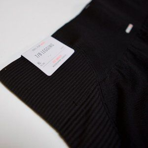 aerie Black 7/8 Seamless Legging